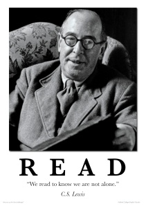 Lewis - READ poster