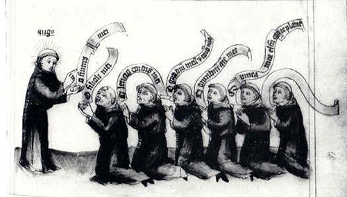 monks_singing_medieval hymn