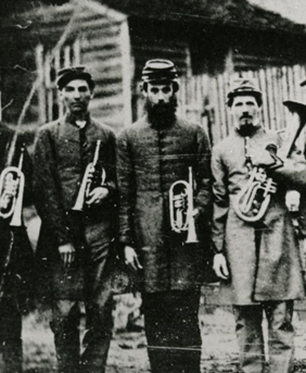 Civil War era Moravian band