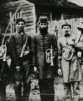 Civil War era Moravian band