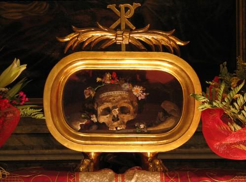 St Valentine's relics